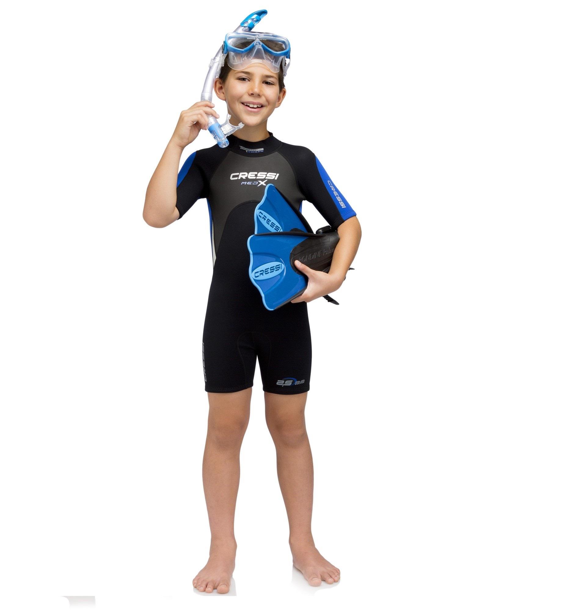 Junior wetsuit Med X