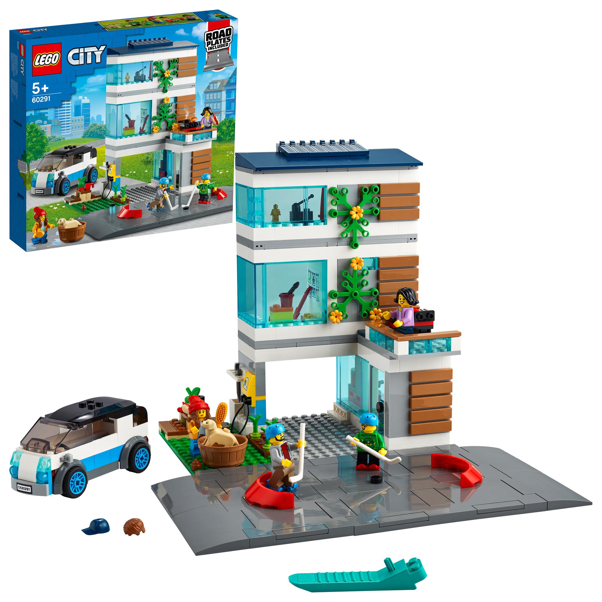 Конструктор LEGO City 60291 Семейный дом