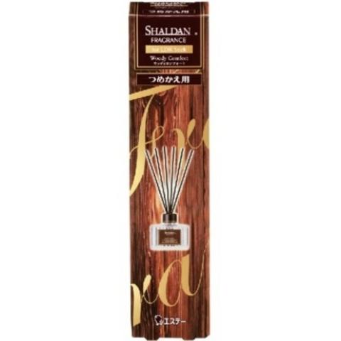 Наполнитель и палочки для освежителя воздуха с ротанговыми палочками ST Shaldan Fragrance Древесный