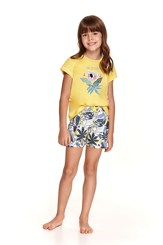 Желтая хлопковая детская пижама Hania
