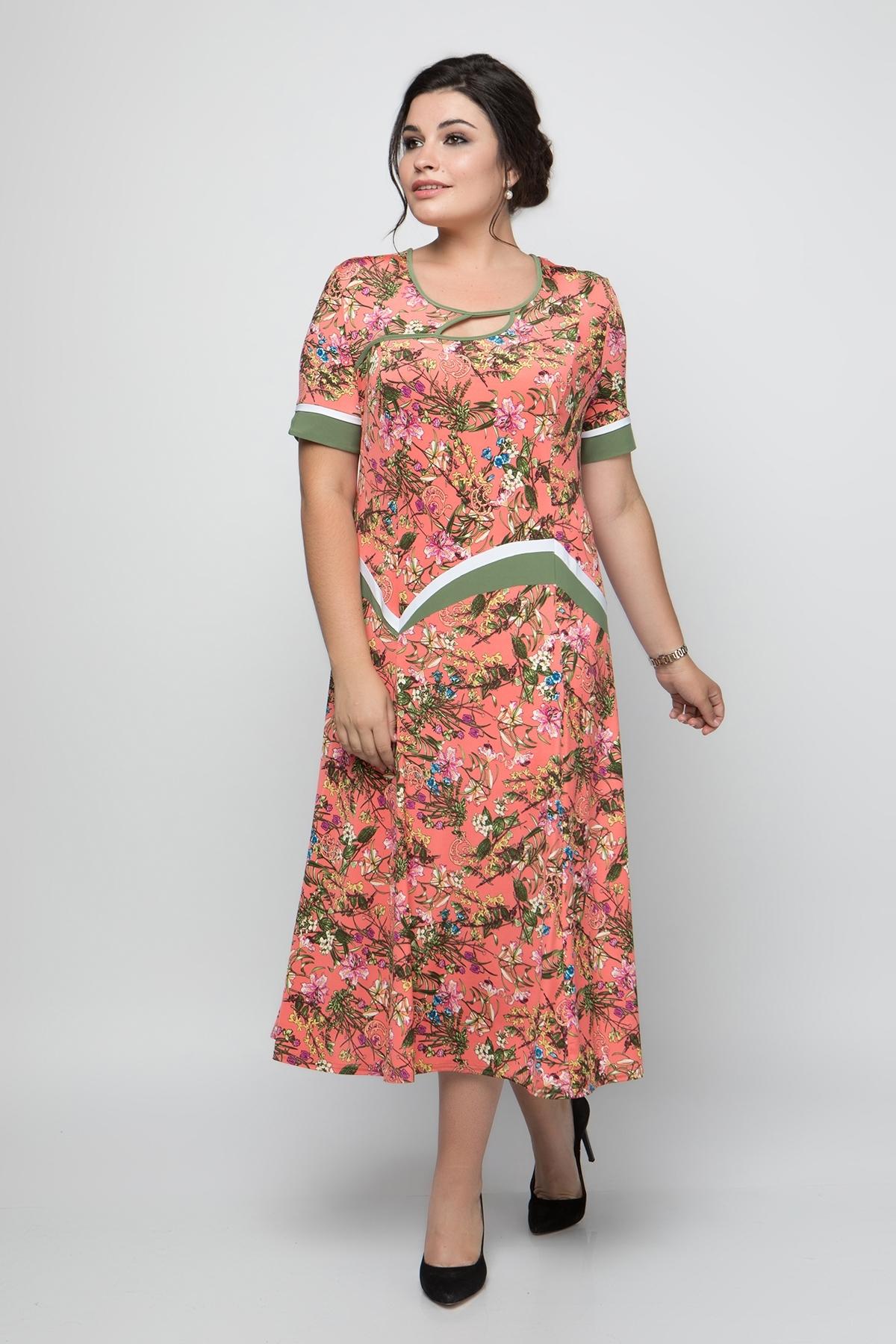 Платье Наоми (коралл)