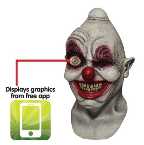 Mask Halloween Evil Killer Clown Digital Dudz