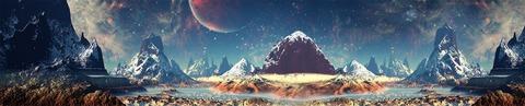 Другая планета (фотопечать)