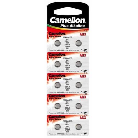 Батарейка Camelion  G03 (LR41)/100/