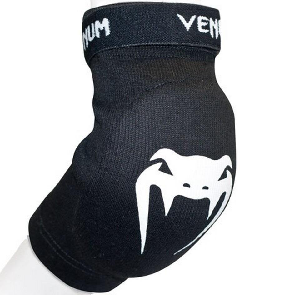 Налокотники Налокотники Venum Kontact Elbow Protector - Cotton - Black 1.jpg