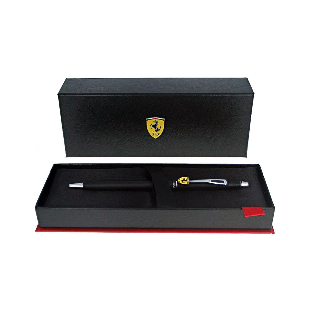Cross Classic Century - Ferrari Matte Black Lacquer/Chrome, шариковая ручка