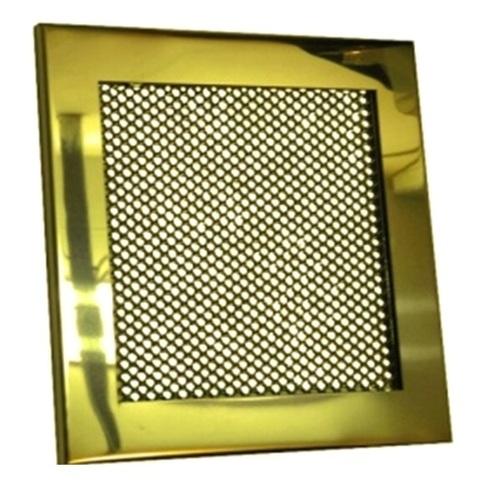 Решетка стальная на магнитах РП-150 сетка, золотая нержавейка