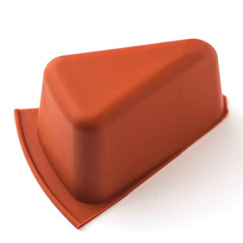 Форма для мыла треугольная силиконовая