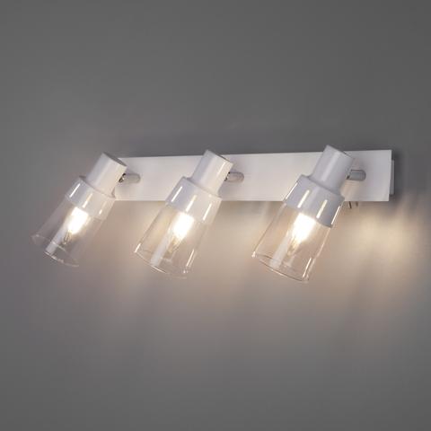 Настенный светильник с выключателем 20081/3 белый