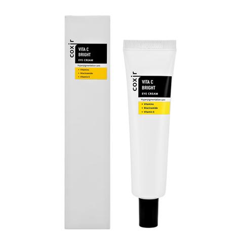 Coxir Vita C Bright Eye Cream Осветляющий крем для глаз с витаминами