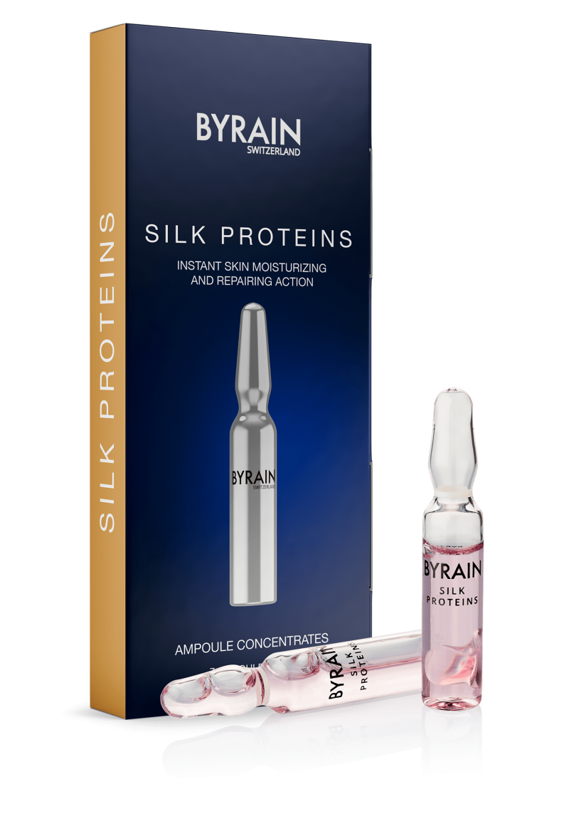 Концентрат ампульный BYRAIN Протеины шёлка SILK PROTEINS 7х2 мл