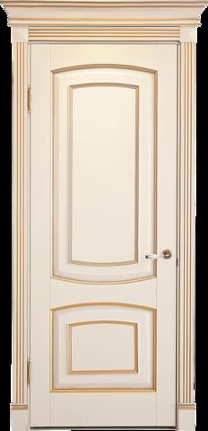 Дверь Лидер-Альверо Елена (беленый бук, глухая, массив бука)