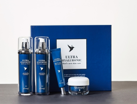 Набор для ухода за лицом Esthetiс House Ultra Hyaluronic acid Bird's nest skin care set,