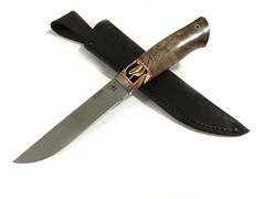 Нож Тайга ELMAX рукоять Стабилизированный корень ореха и мозаичный акрил