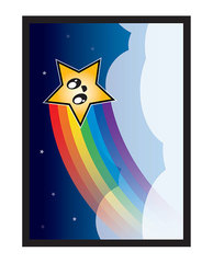 Legion Supplies - Rainbow Star Протекторы матовые 50 штук