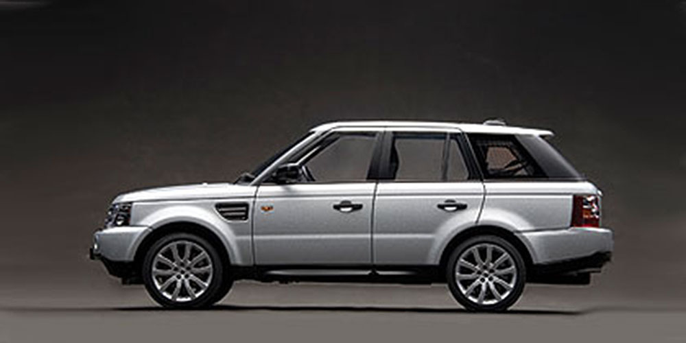 Коллекционная модель Range Rover Sport 2008 Silver