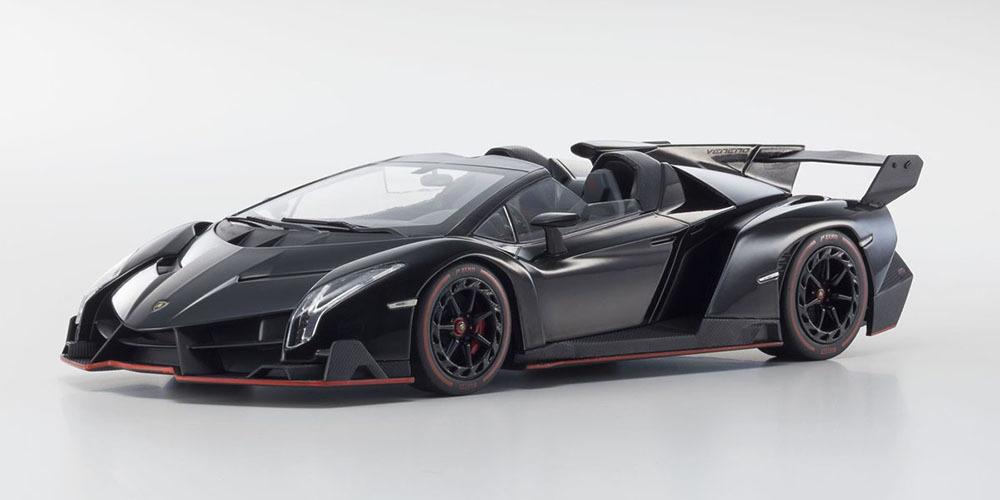 Коллекционная модель Lamborghini Veneno Roadster 2015 Black