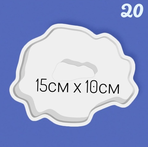 Молд для эпоксидной смолы ЭМ-020