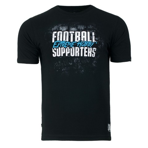 Футболка FOOTBALL SUPPORTERS print blue