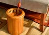 Ведро под чабань из бамбука