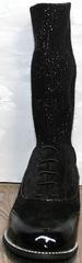 Красивые полусапожки женские Kluchini 5161 k255 Black