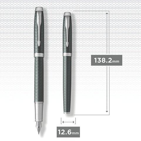 Перьевая ручка Parker IM Premium Dark Green CT123