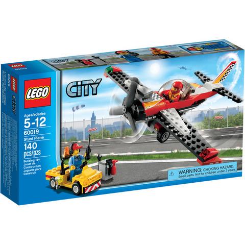 LEGO City: Самолёт высшего пилотажа 60019 — Stunt Plane — Лего Сити Город