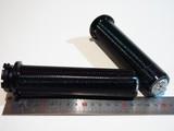 Грипсы алюминиевые чёрные 25мм Honda Steed Shadow Magna