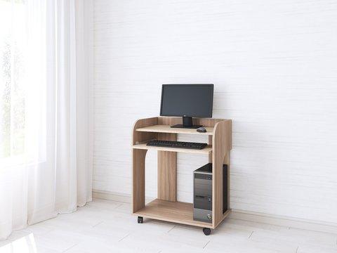 Компьютерный стол Грета-10 дуб сонома