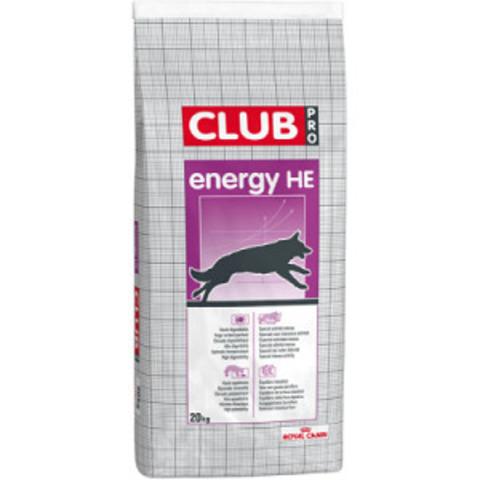 Royal Canin Club Pro Energy HE сухой корм для активных собак всех пород и размеров