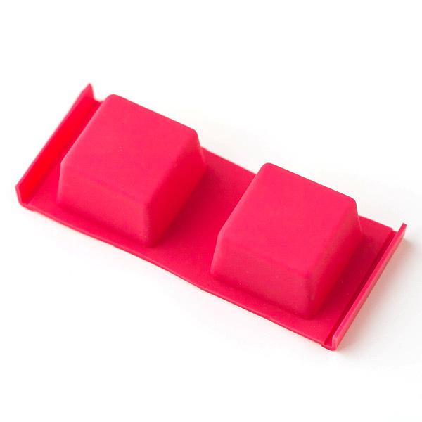Форма для мыла Кубики розовая
