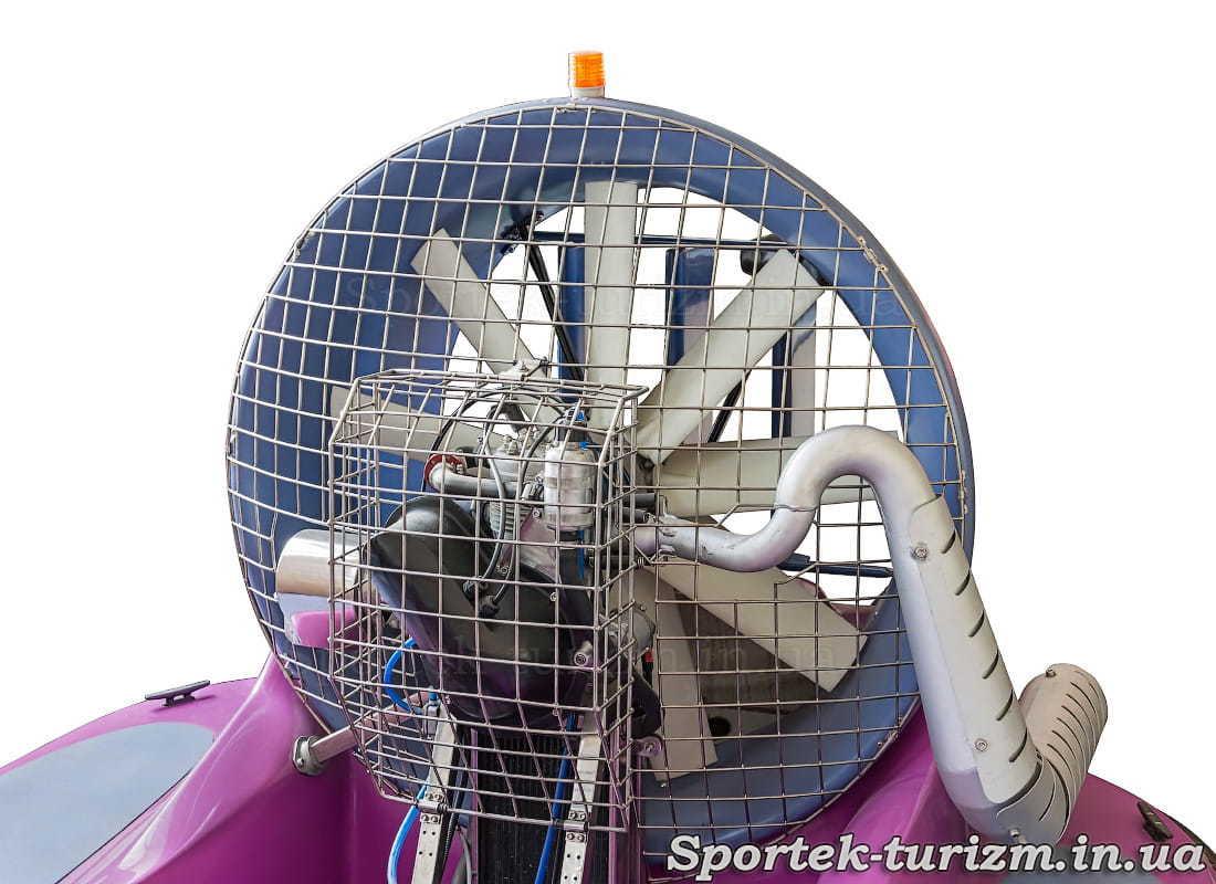 Двигун катера на повітряній подушці Tornado-F50