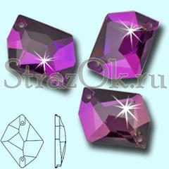 Купите стразы пришивные Cosmic Аметист фиолетовые для наряда фигурного катания
