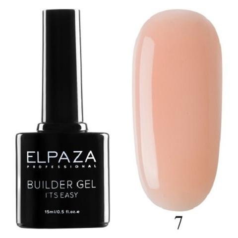 Моделирующий гель Builder Gel it's easy Elpaza, 15ml - 7