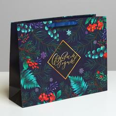Пакет ламинированный горизонтальный «Роскошь волшебства», L 40 × 31 × 11,5 см, 1 шт.