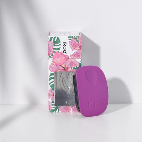 pocket sugar plum black | расческа-детанглер для сумочки Сладкая слива