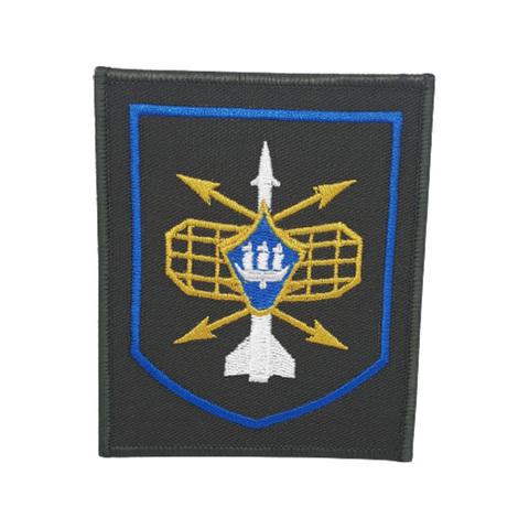 Шеврон нарукавный РТВ (олива,голубой кант)