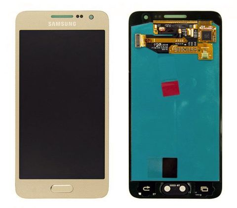 LCD SAMSUNG A3 A300F + Touch Gold Orig MOQ:5