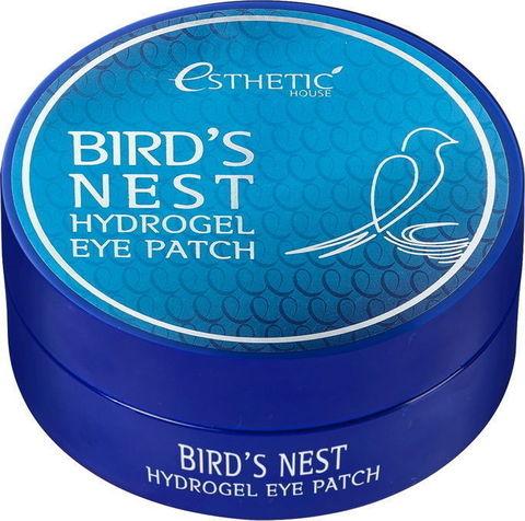Гидрогелевые патчи для глаз ЛАСТОЧКИНО ГНЕЗДО Bird's Nest Hydrogel EyePatch, 60 шт, ESTHETIC HOUSE