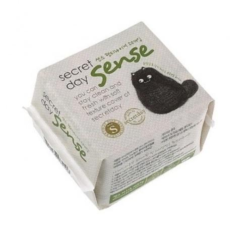 Ультратонкие дышащие органические прокладки Secret Day Sence 15,5 см 20 шт