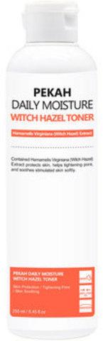 Pekah Поросужающий тонер для лица с экстрактом гамамелиса Daily Moisture WITCH HAZEL TONER, 250 ml