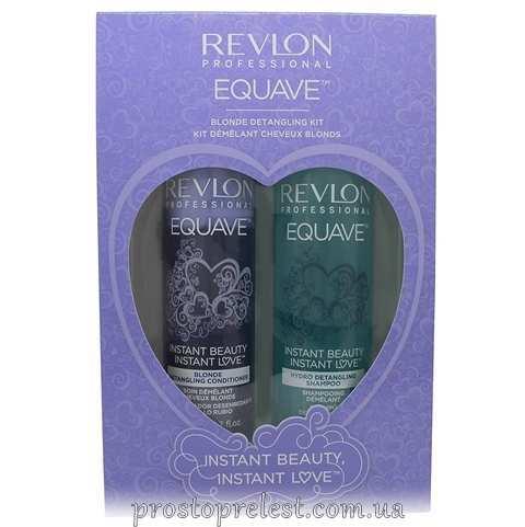 Revlon Professional Equave IB Blonde Duo Pack - Подарунковий набір для догляду за блондованним волоссям