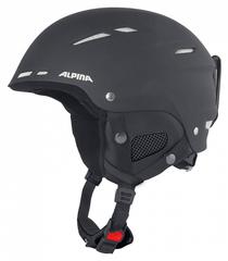 Шлем горнолыжный Alpina BIOM C black matt white