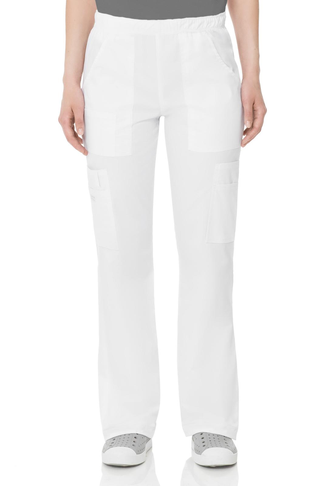 Брюки унисекс белого цвета Cherokee Workwear
