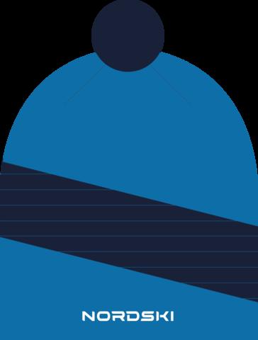 Шапка Nordski Line Light blue