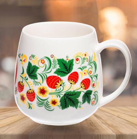"VELIKOROSS mug ""Strawberry glade"""