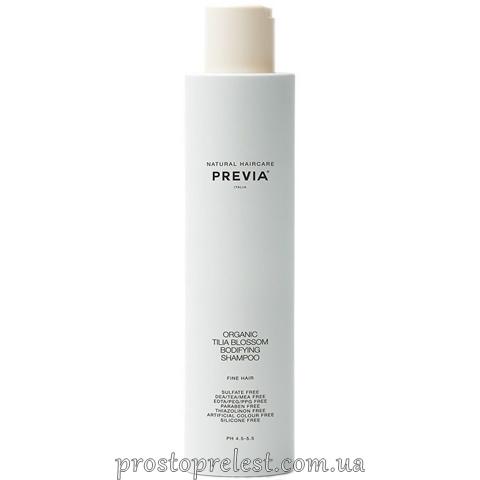 Previa Tilia Blossom Bodifying Shampoo – Шампунь для придания объема