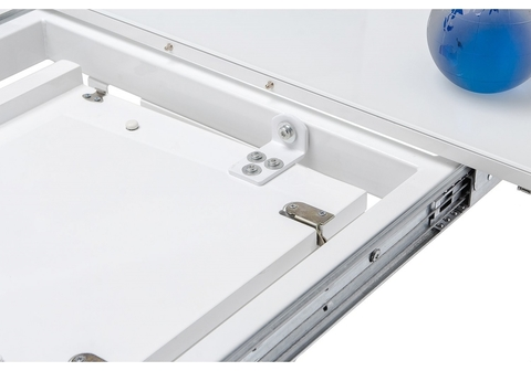 Стол деревянный кухонный, обеденный, для гостиной Space 120 белый 80*80*75 Белый