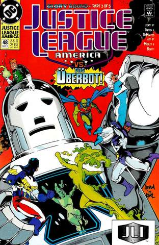 Justice League America #48
