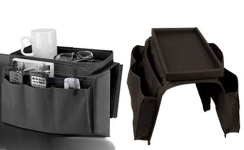 Органайзер на боковой подлокотник дивана или кресла